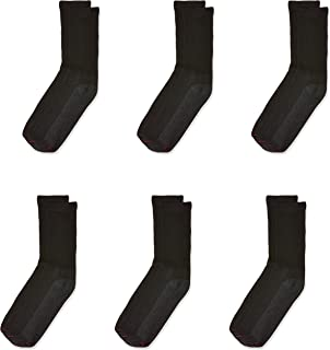 Hanes Mens 185-6 Socks (pack of 6)