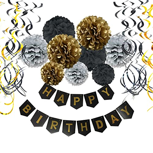 Gold And Silver Party Decorations Amazoncom