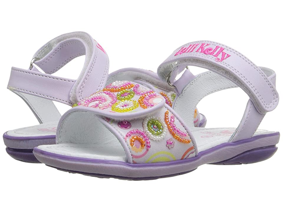 Lelli Kelly Kids Puntini Sandal (Toddler/Little Kid) (Lilac Fantasy) Girls Shoes