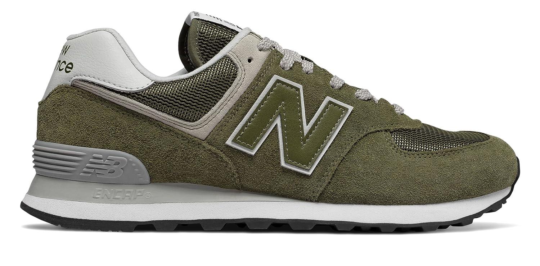 (ニューバランス) New Balance 靴?シューズ メンズライフスタイル 574 Olive オリーブ US 5 (23cm)