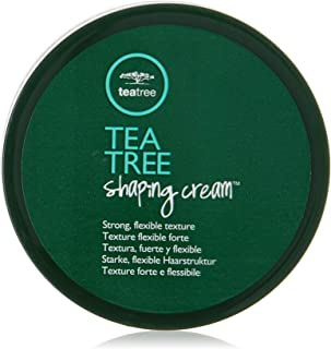 Tea Tree Shaping Hair Styling Cream, Strong Hold, Matte Finish