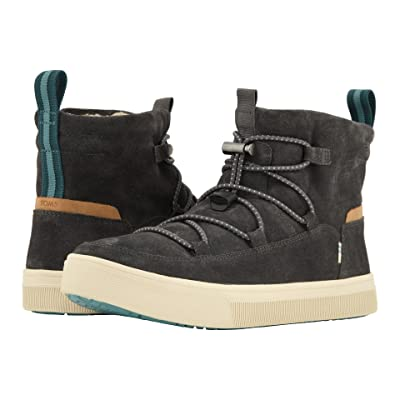 TOMS TRVL LITE Alpine Water-Resistant Boot (Forged Iron Suede) Men