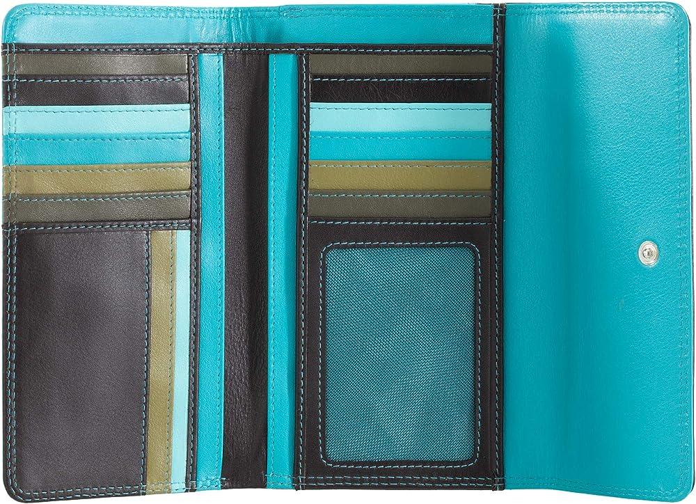 Dudu portafoglio in pelle morbida porta carte di credito con protezione anticlonazione 8031847135091