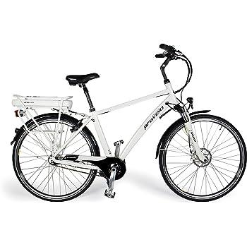 Provelo Herren E Bike Elektrofahrrad Fahrrad Stadtrad Weiss 7