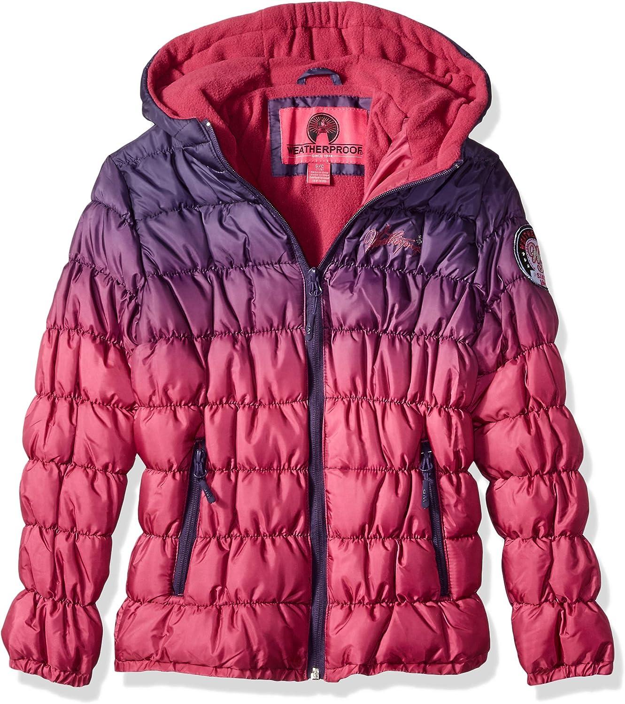 Weatherproof Girls' Cinched Bubble Jacket