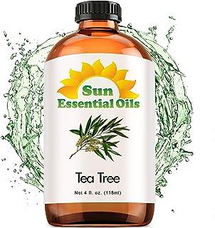 Tea Tree Essential Oil (Huge 4oz Bottle) Bulk Tea Tree Oil - 4 Ounce