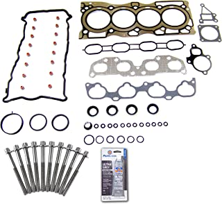 Head Gasket Set Bolt Kit Fits: 07-12 Nissan Sentra SE-R 2.5L DOHC 16v QR25DE