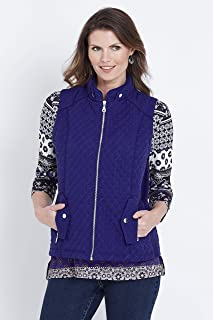 W.Lane Quilted Vest - Womens