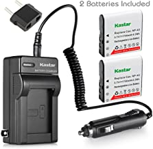 Kastar 2X Battery + Charger for Casio NP-40 & Casio Exilim EX-Z1000 EX-Z1050 EX-Z1080 EX-Z1200 EX-Z200 EX-Z30 EX-Z300 EX-Z40 EX-Z450 EX-Z50 EX-Z500 EX-Z55 EX-Z57 PRO EX-Z600 EX-Z700 EX-Z750 EX-Z850