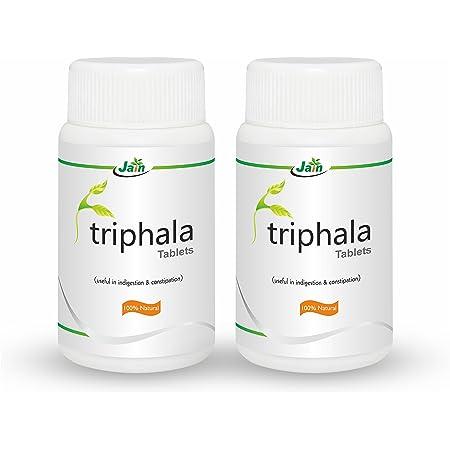 Jain Triphala Tablets - 100 Tablets (Pack of 2)