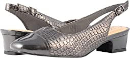 Pewter Croco/Patent