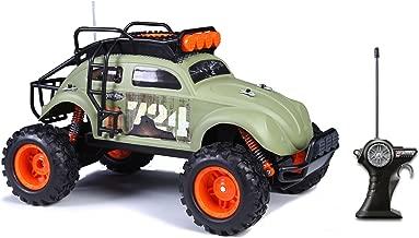 Maisto R/C Desert Rebel Volkswagen Beetle Radio Control Vehicle (1:10 Scale), Frustration Free Packaging