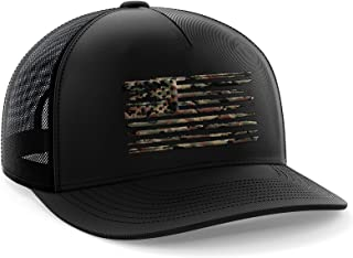 Tactical Pro Supply American Flag Snapback Hat - Embossed Logo American Cap for Men Women Sports Outdoor