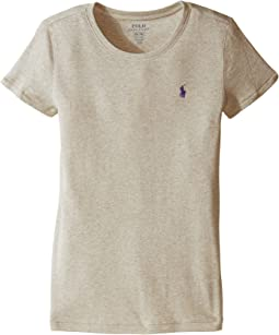 Polo Ralph Lauren Kids Short Sleeve Knit Tee (Little Kids/Big Kids)