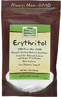 Now Foods, Erythritol 100% Pure Natural Sweetener, 1 lb (454