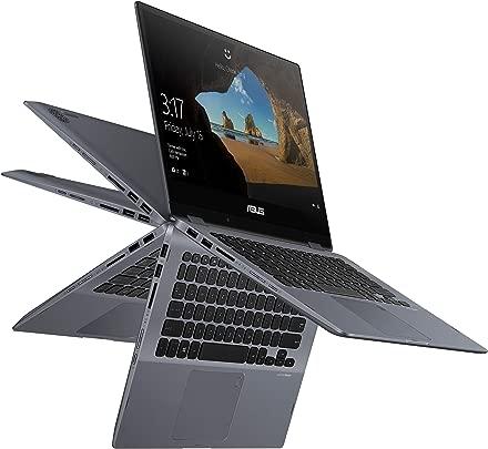 Asus Vivobook Flip 14 Thin amp Light 2-in-1 Touch Laptop 14 Glossy Fhd nbsp Intel Core i7-8565U Processor 8GB RAM 512GB PCIe Nvme SSD Windows 10 Home Fingerprint Reader TP412FA-DB72T Star Grey Color Schätzpreis : 926,94 €