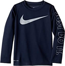 Swoosh Just Do It Dri-FIT Thermal (Little Kids)