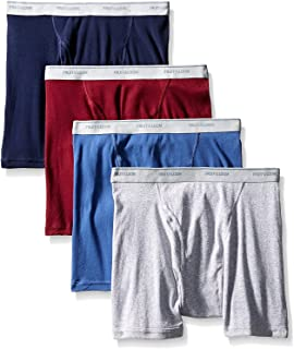 Fruit of the Loom Men's Assorted Color X-Size Boxer Brief(Pack of 4) (Assorted, XXXXX-Large)