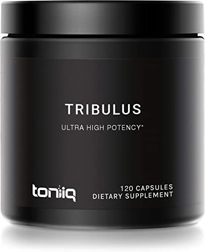 Ultra High Strength Tribulus Capsules - 95% Steroidal Saponins - 1300mg Concentrated Extract Formula - The Strongest ...