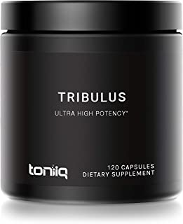 Ultra High Strength Tribulus Capsules - 95% Steroidal Saponins - 1300mg Concentrated Extract Formula - The Strongest Testo...