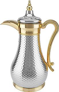 MyDot Arabic Dallah Coffee Flask, XD-ART-SG, Multi-Colour, 1 Litre