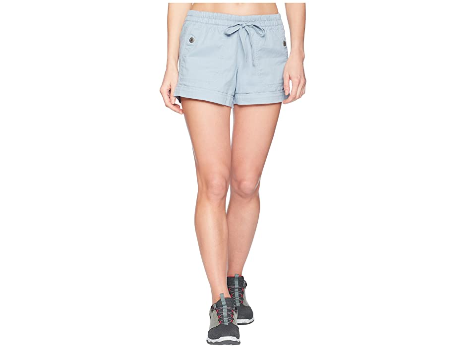 The North Face Sandy Shores Cuffed Shorts (Dusty Blue) Women