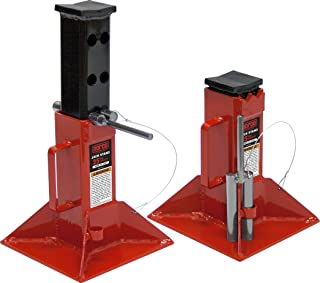 Norco Professional Lifting Equipment 81225i Heavy Duty 25 Ton Capacity Jack Stands - Pin Type (Imported) (Set of 2)
