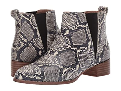 Madewell Carina Boot (Stone Multi Snake) Women