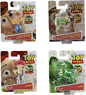 Disney Pixar Toy Story Buddy 20th Anniversary Collection Set of 4 Mini Figures - Buzz Lightyear