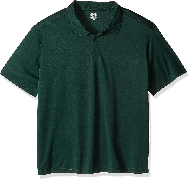 Classroom School Uniforms Men's Moisture-Wicking Polo Shirt