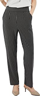 Women's Stretchy Tummy Control High Waist Crepe Knit Pants