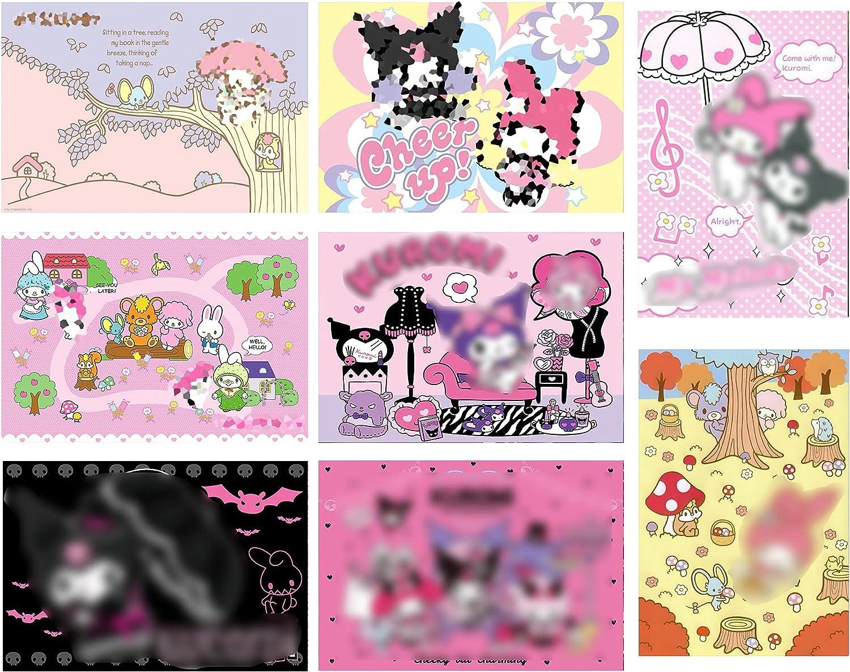 Posters Manga Decor Live Room Bedroom Canvas Wall Art Print 8 PCS 11.5x16.5 Inch…