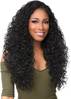 Sensationnel Synthetic Hair Half Wig Instant Weave Boutique Bundles Deep (T1B/27)