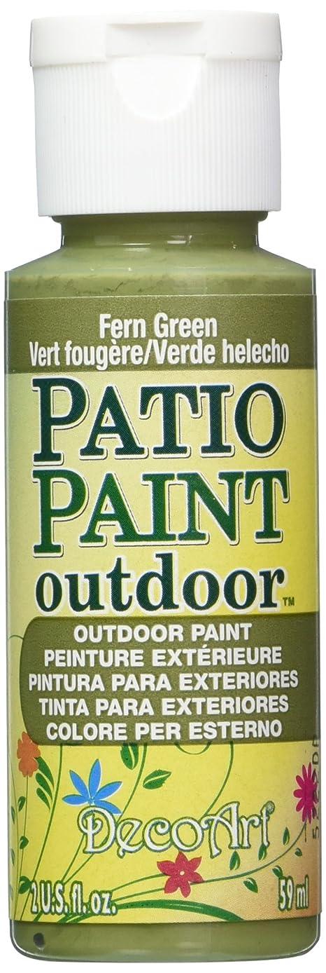 DecoArt Patio Paint, 2-Ounce, Fern Green
