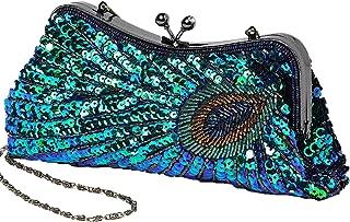Best peacock handbag purse Reviews