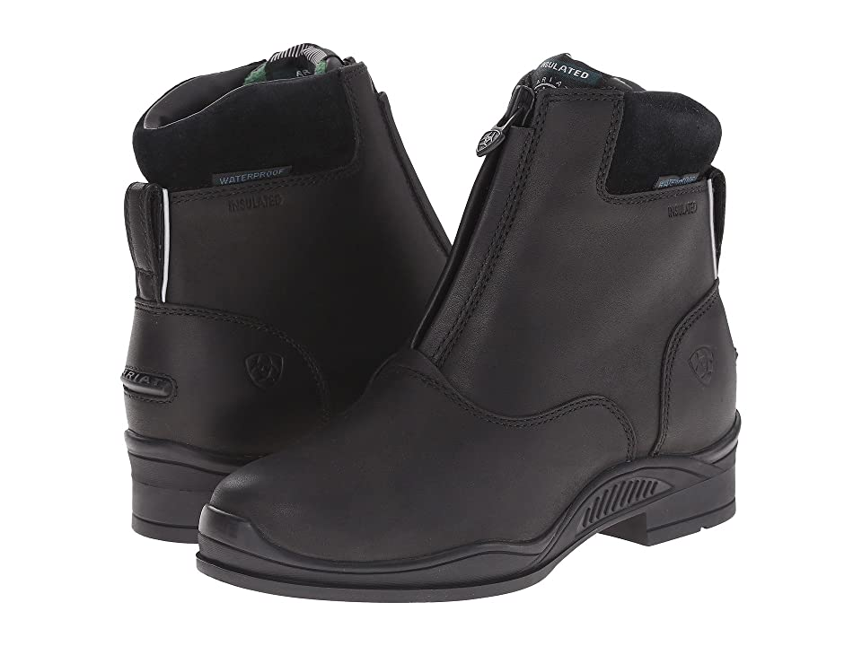 Ariat English Kids Extreme Zip Paddock H2O (Little Kid/Big Kid) (Insulated Black) Cowboy Boots
