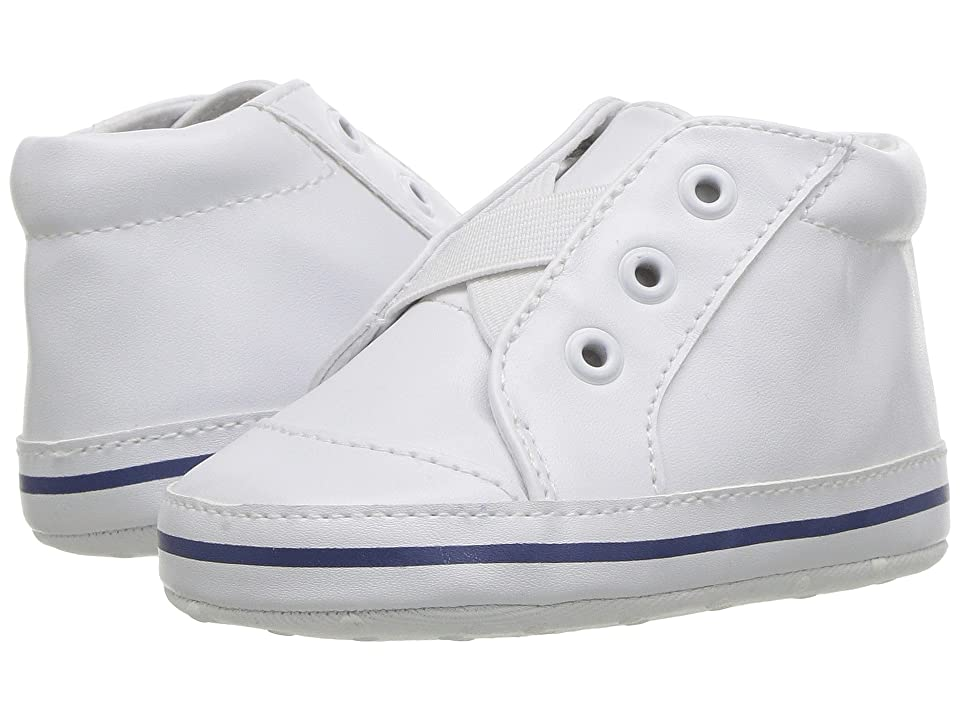 Janie and Jack Laceless High-top Sneaker (Infant) (White) Boys Shoes