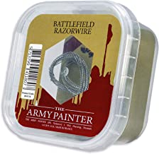 The Army Painter Battlefield Razorwire - Metal Razor Wire for Miniature Bases and Wargame Terrains, 4 m