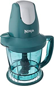 Ninja Storm Blender with 450 Watts Food & Drink Maker/Food Processor - QB751QE - (Emerald) (Renewed)