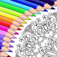 Color beautiful florals, animals, patterns, mandalas, cats, pictures of characters (girls and boys), gardens, famous paintings, and more Create your own color combinations in this awesome coloring game Draw mandalas Color and recolor as many time as ...