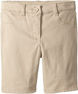 Five-Pocket Sateen Bermuda Shorts (Little Kids)