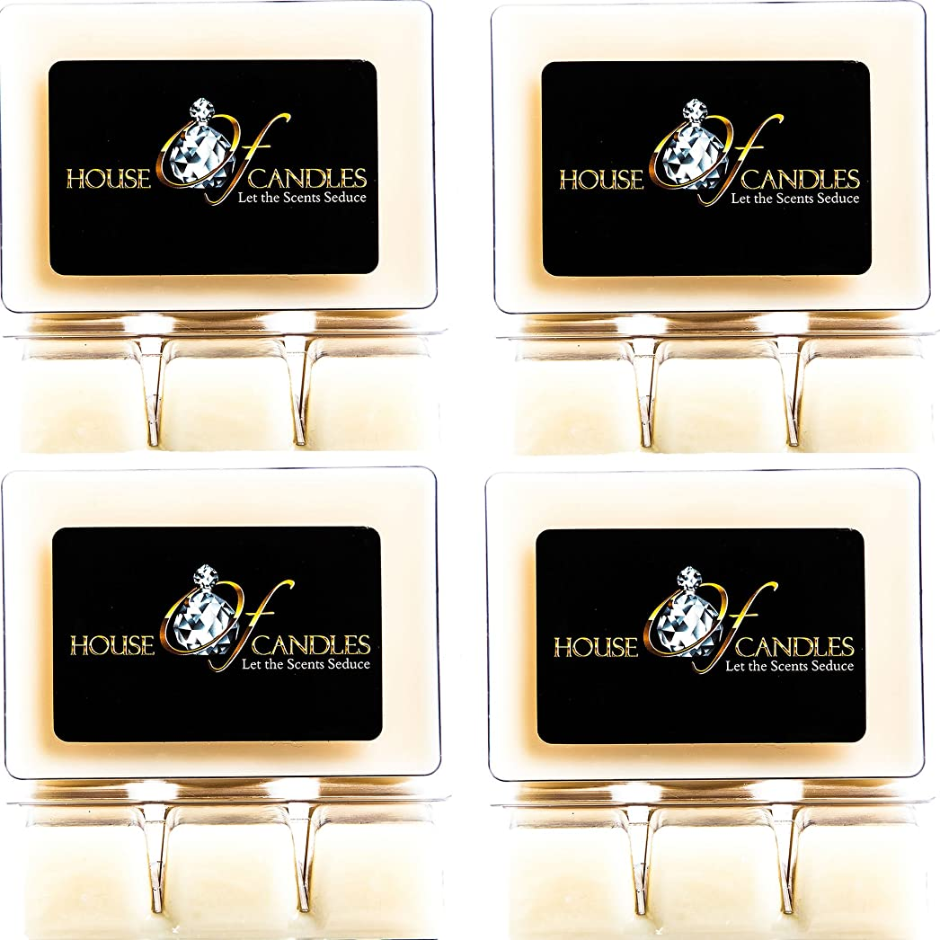 手数料子犬支給Cappuccino Scented Candle Melts x 4 Clam Packs