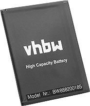 vhbw Li-Ion batteria 2500mAh (3.8V) per cellulari, smartphone Wiko Harry, Lenny 4, Lenny 4 Plus