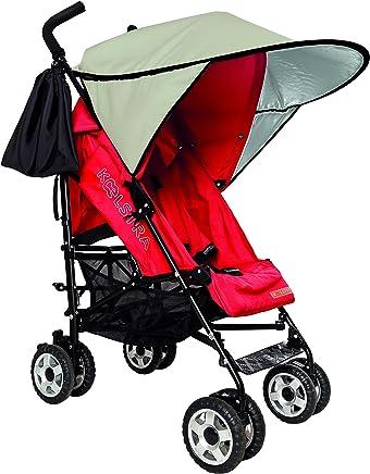 Cangaroo Universal Sonnenschutz f/ür den Kinderwagen Schutz vor Sonne Wind Staub beige