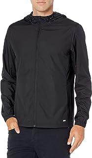 Amazon Essentials Men's Packable Water-Repellant Run Jacket
