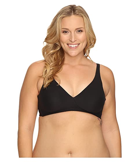 97e33896370 Wacoal How Perfect Full Figure Wire Free Bra 852389 at Zappos.com