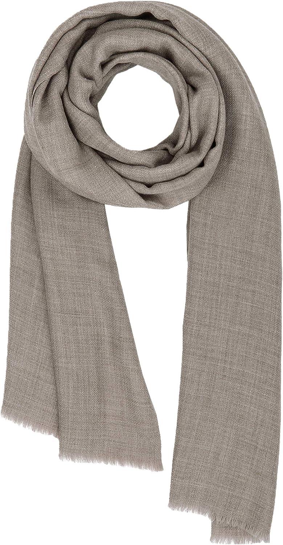 Made in Kashmir  Spring Summer 1920 Shawl Cashmere Feel Wool Silk Blend Scarfs for Women Men's Pashmina Stole Unisex Scarf