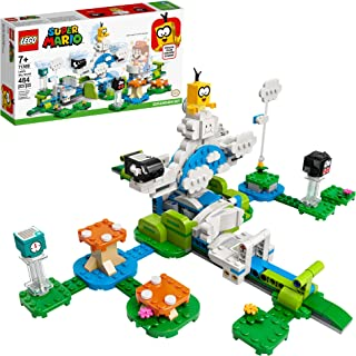 LEGO Super Mario Lakitu Sky World Expansion Set 71389 Building Kit; Collectible Toy Playset for Kids; New 2021 (484 Pieces)