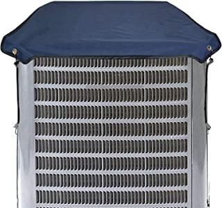 Homydom Durable Winter Top Air Conditioner Cover for Outside Units, AC Cover Hard Cover for AC Unit Waterproof Material, S...
