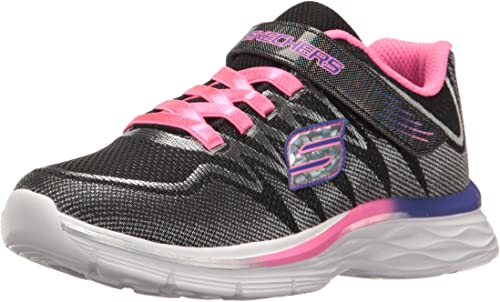 Skechers Enfants Girls' Dream N'dash-Whimsy paniers, noir noir Lavender rose, 2.5 M US Peu Enfant  profitez d'une réduction de 30 à 50%